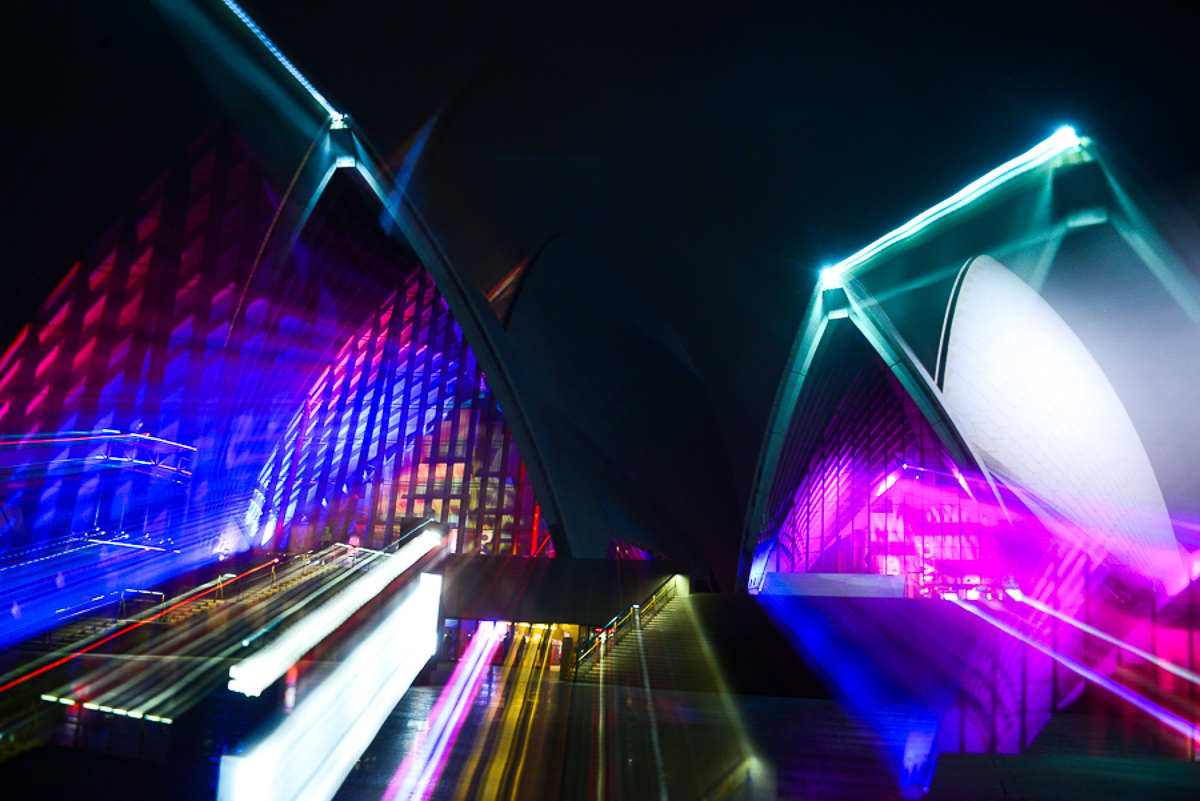 VIVID SYDNEY NIGHT photography course / Focus 10 /3hrs /