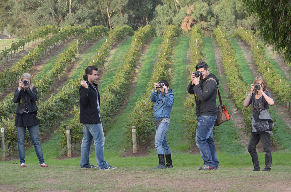 INTERMEDIATE DIGITAL 2 PHOTOGRAPHY COURSE | PERTH & SWAN VALLEY WINERIES (full day)